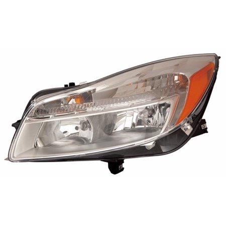 Go-Parts OE Replacement for 2011 - 2014 Buick Regal Front Headlight Assembly Housing / Lens / Cover - Left (Driver) Side 22794767 GM2502353 Replacement For Buick Regal Buick Regal Headlamp Headlight Lamp