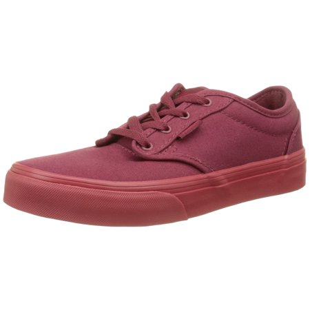 dc1346947b Vans Kid s youth Atwood Shoes Check Liner Burgundy Sneakers (6.5) (7 M US  Big Kid)