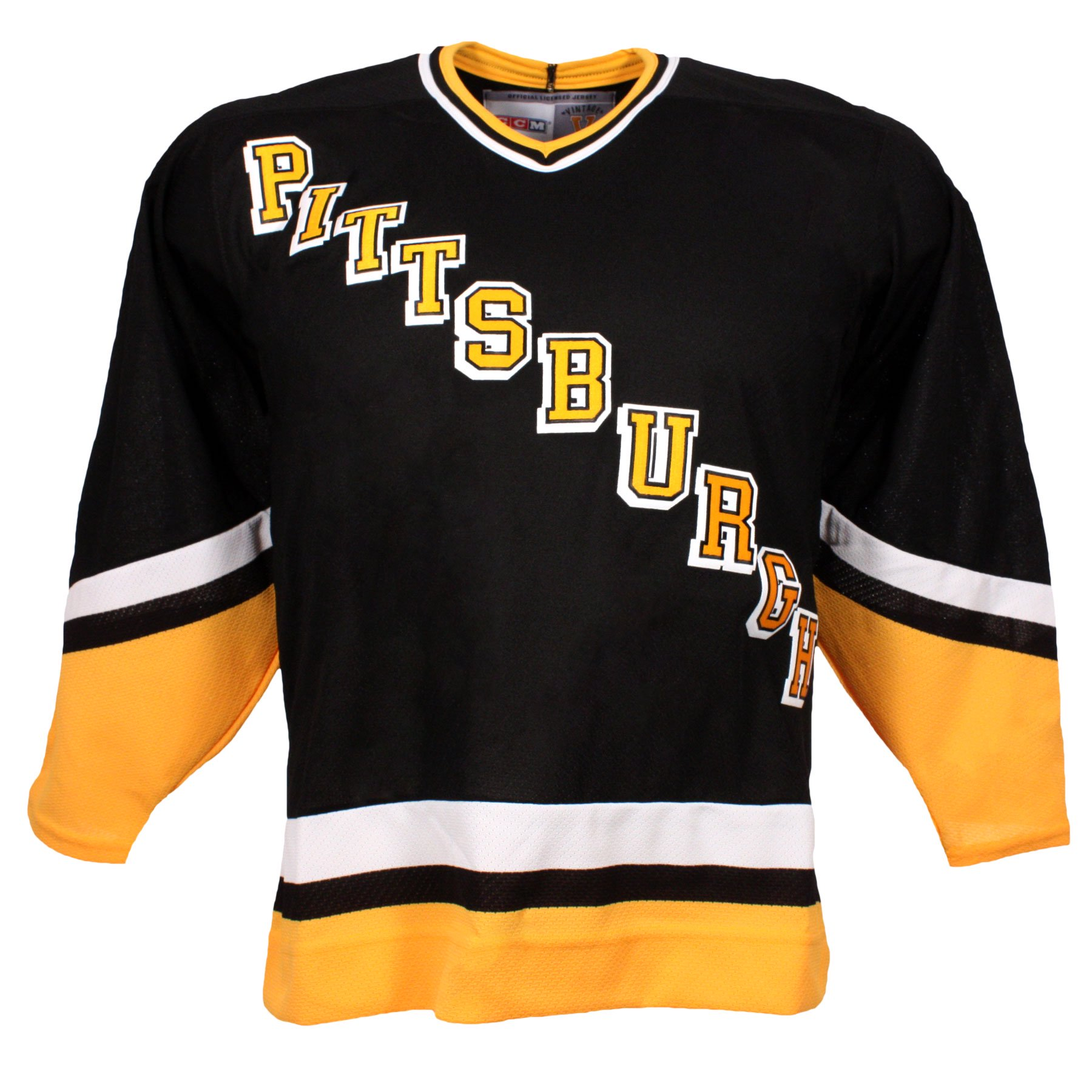 the latest 9e4a7 53c51 Pittsburgh Vintage Canada away Replica Penguins 1992-95 ...