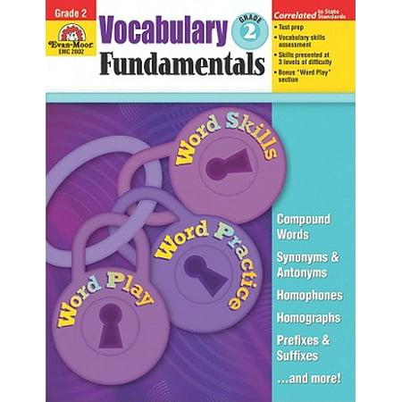 Vocabulary Fundamentals, Grade 2 - Halloween Vocabulary Grade 6