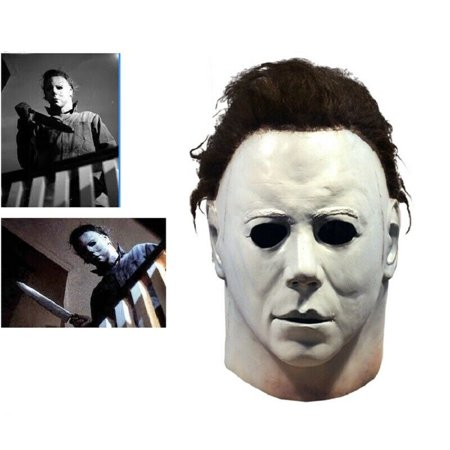 Liquid Latex Halloween Mask (MarinaVida Michael Myers Mask 1978 Halloween Latex Full Head Adult)
