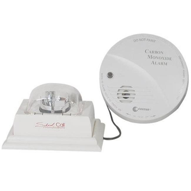 SilentCall CO2-L Carbon Monoxide Detector & Strobe