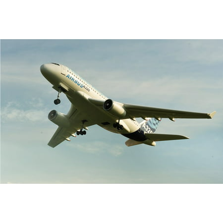 Image of 2.4G 4CH RC Airbus A320 Model Plane