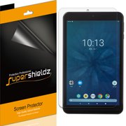 [3-Pack] Supershieldz for Onn Tablet Pro 8 inch Screen Protector, Anti-Bubble High Definition (HD) Clear Shield