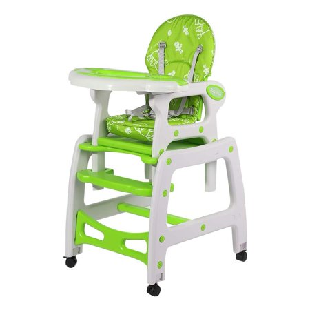 3 in 1 Multi-Function Baby Toddler High Chair Adjustable Play Table Reclining Position, Multi-Function High Chair, Baby Chair