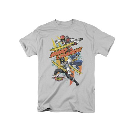 Power Rangers Children's TV Series Cartoon Dino Charge! Adult T-Shirt - Power Rangers T Shirt Adults