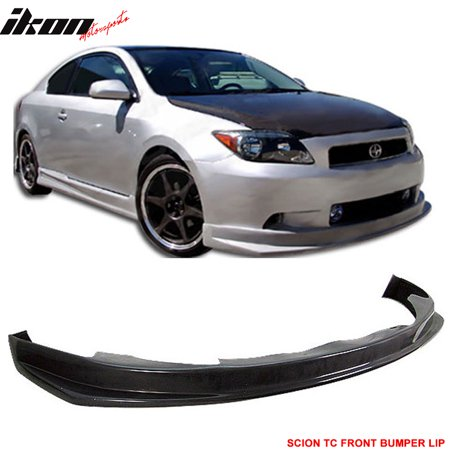 Fits 05-10 Scion tC Urethane Front Bumper Lip Spoiler JDM PU Body (Lip Spoiler Kit)
