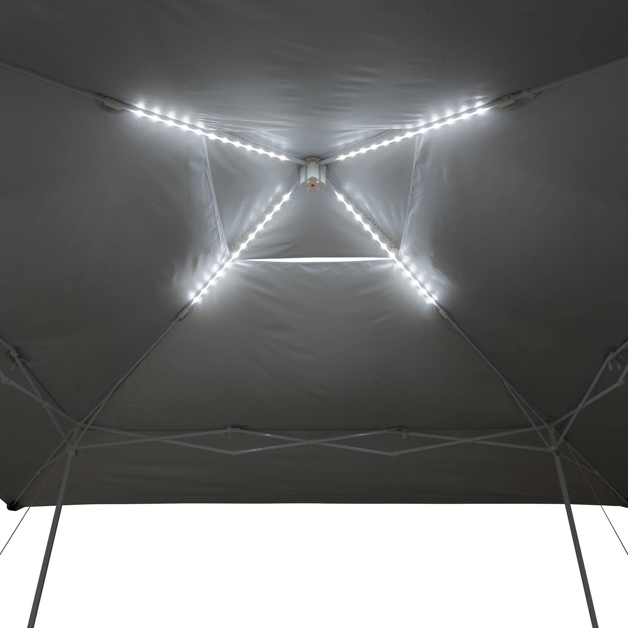 Ozark Trail 14  x 14  Instant Canopy With Led Lighting System - Walmart.com 17b6ef552c1