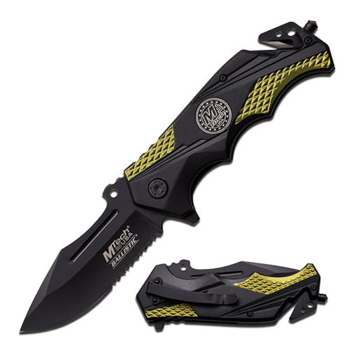 """M-Tech USA Spring-Assisted Knife, 4.75"""""""
