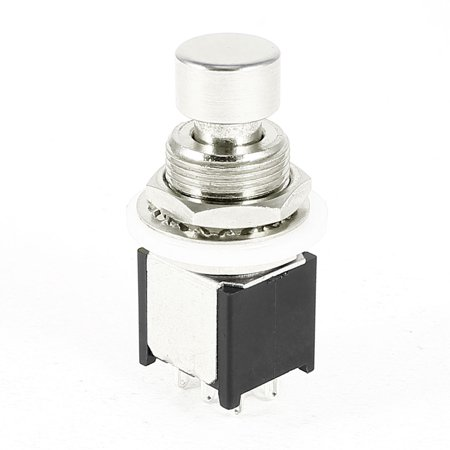unique bargains dpdt 6 pin momentary true bypass guitar effects pedal footswitch. Black Bedroom Furniture Sets. Home Design Ideas