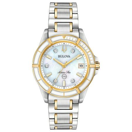 Bulova Women's Diamond Marine Star Watch
