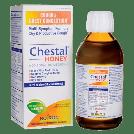 Boiron Chestal Honey Cough Syrup 6.7 fl oz Liquid