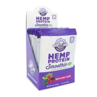 SS Hemp Protein Smoothie - Berry 12/1.1oz packs