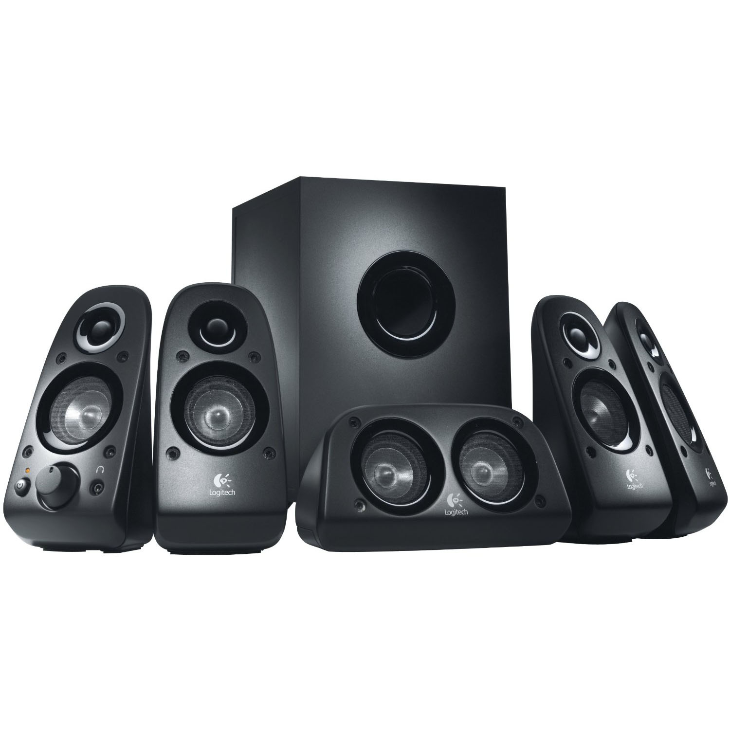 Logitech Z506 150 W 3D Stereo Bass Control Surround Sound Speaker - 980-000430
