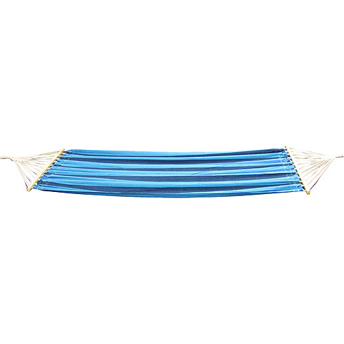 Stansport Bahamas Hammock: Blue w/Purple and Black Stripes - Model #30800-50