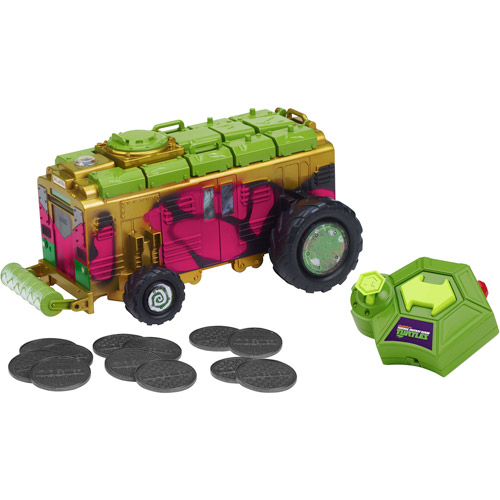 Teenage Mutant Ninja Turtles Ninja Control Shellraiser Remote-Controlled Vehicle
