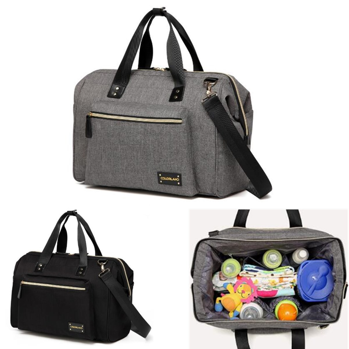 Multifunction Diaper Nappy Bags Baby Travel Mummy Shoulder Bag Crossbody Handbag