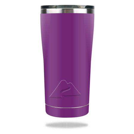 MightySkins Protective Vinyl Skin Decal for Ozark Trail Tumbler (Original Design) 20 oz wrap cover sticker skins Solid Purple