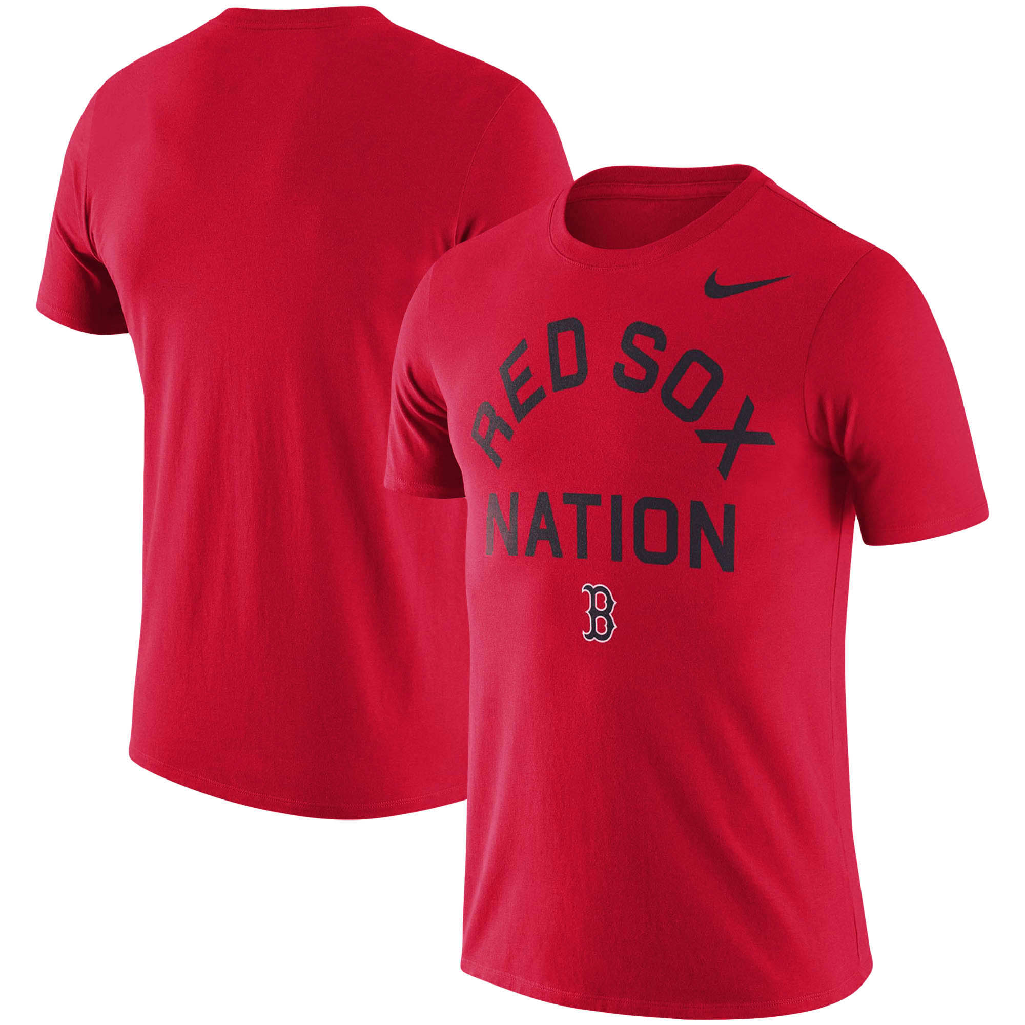 Boston Red Sox Nike MLB Nation Local Phrase T-Shirt - Red