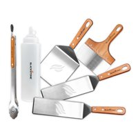 Blackstone Deluxe Stainless Steel 6-Piece Spatula Griddle Kit