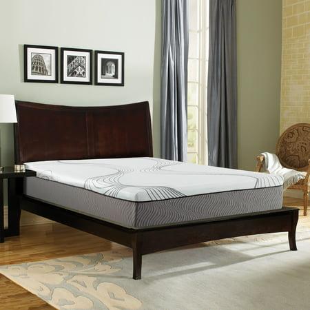 "Contura 2000 12""Medium Plush Engineered Latex Mattress Bed"