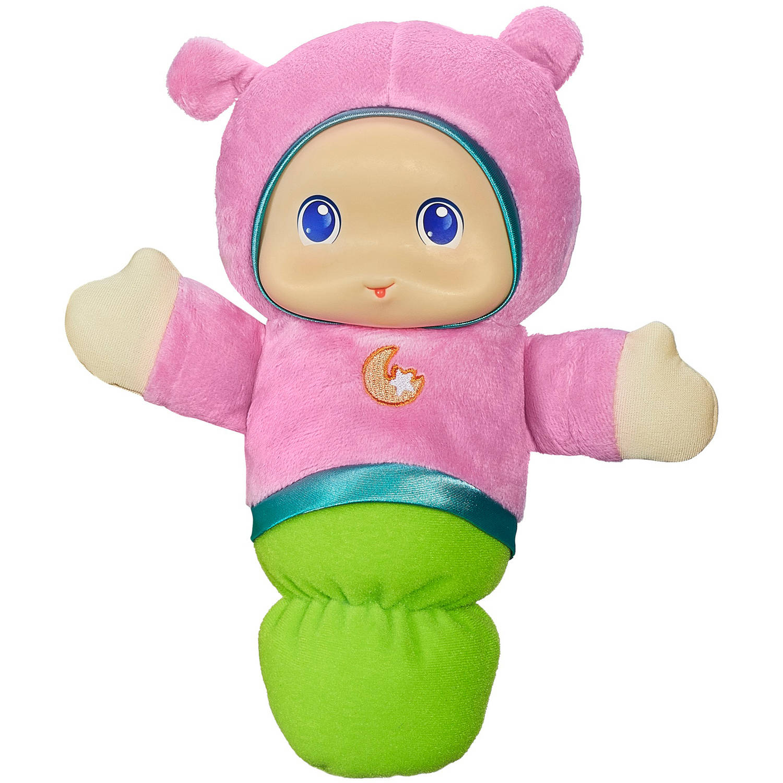 Playskool Play Favorites Lullaby Gloworm Toy, Pink - Walmart.com