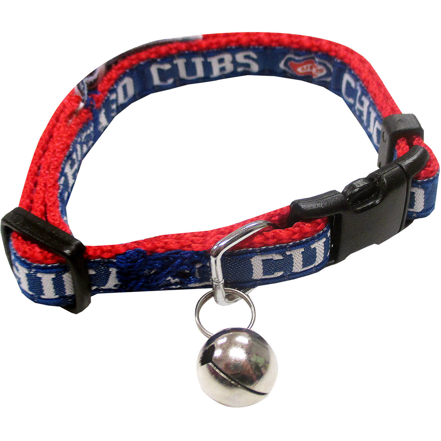 Pets First MLB Chicago Cubs Cat Collar