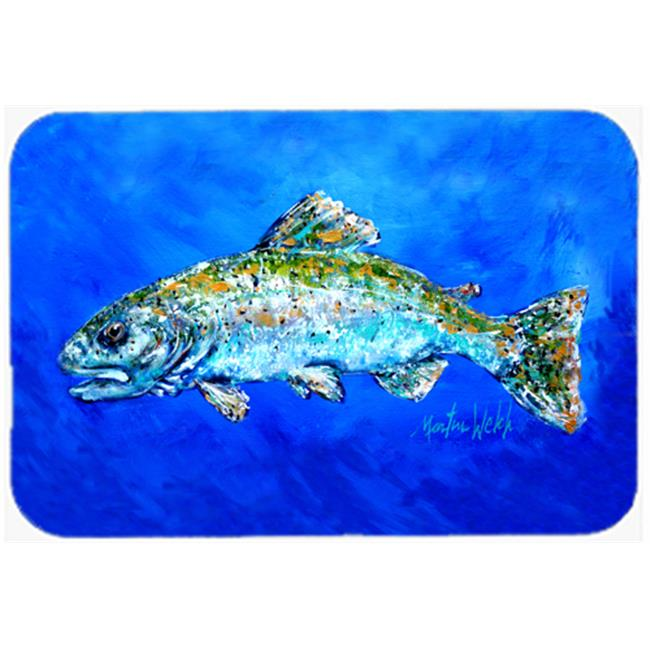 Carolines Treasures MW1124MP Fish Headed Downstream Mouse Pad, Hot Pad or Trivet - image 1 de 1