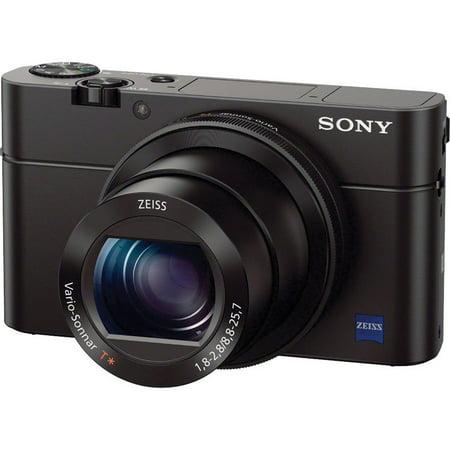 Sony RX100 III 20.1 MP Premium Compact Digital Camera 1-inch Sensor and 24-70mm F1.8-2.8 Carl Zeiss