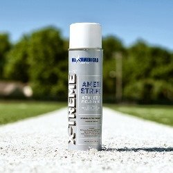 X-Treme White Athletic Field Marking Paint - 12 Cans Athletic Field Marking Spray Paint