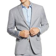 INC NEW Gray Mens Size Medium M Slim Fit Two Button Blazer Sportcoat Jacket