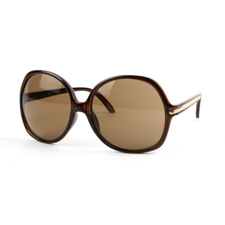 Oversized Women's Fashion Chic Sunglasses P3027 ()