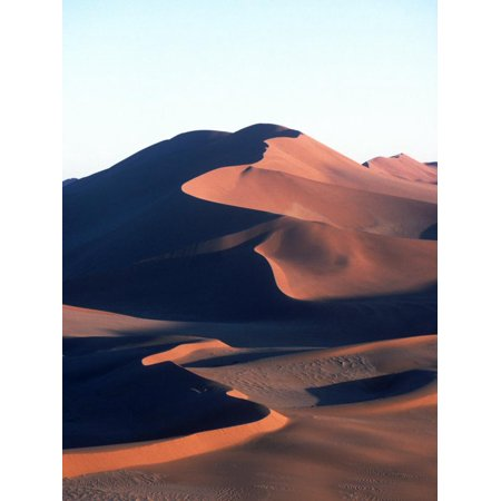 Oldest Due Field in the World at Sossusvlei, Namibia Print Wall Art By Mark