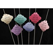 Custom Sparkler Tag - 36 Tags Per Order - Choose from 24 Colors