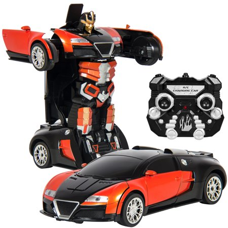 Best choice products kids toy transformer rc robot car remote best choice products kids toy transformer rc robot car remote control car orange malvernweather Images