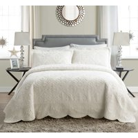 VCNY Home Westland Quilted Plush Bedspread Set