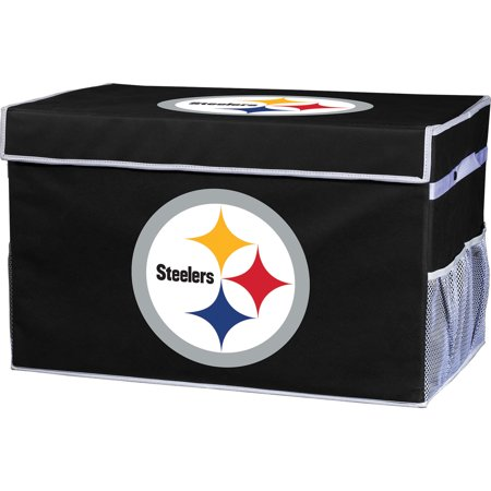 Franklin Sports NFL Pittsburgh Steelers Collapsible Storage Footlocker Bins - Small - Pittsburgh Steelers Store