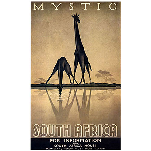 "Trademark Fine Art ""Mystic South Africa"" Canvas Art by Gayle Ullman"