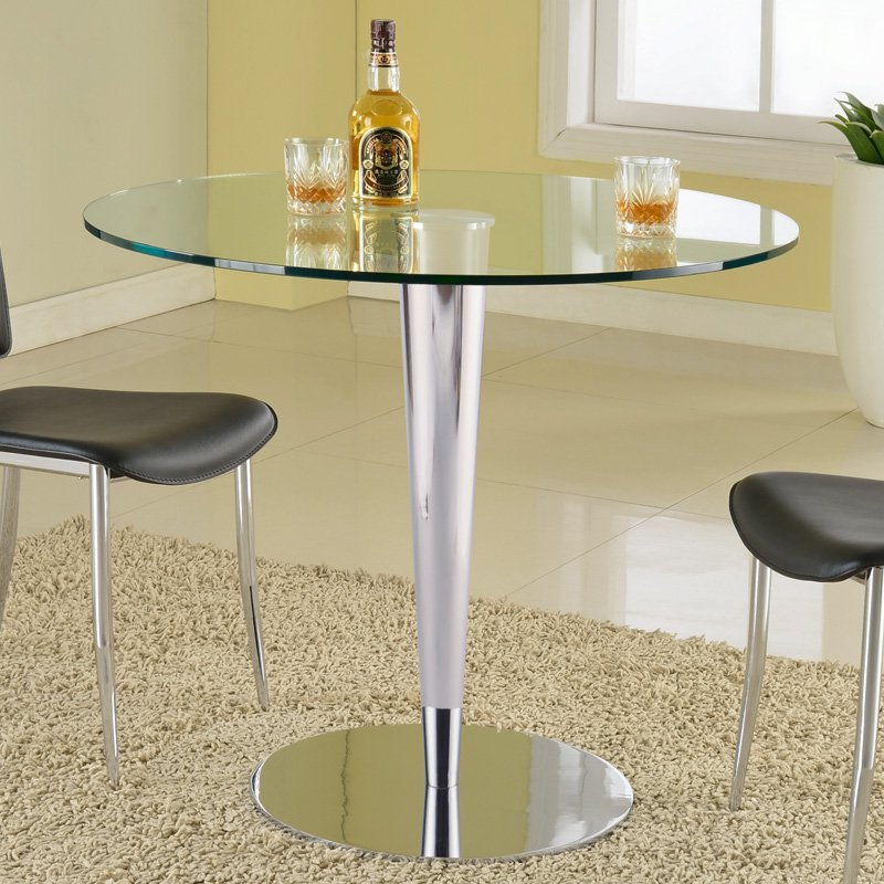 Chintaly Grand Dining Table with Glass Top