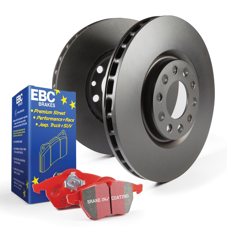 EBC Brakes S12KR1264 S12 Kits Redstuff and RK Rotors Fits 04-17 Cooper