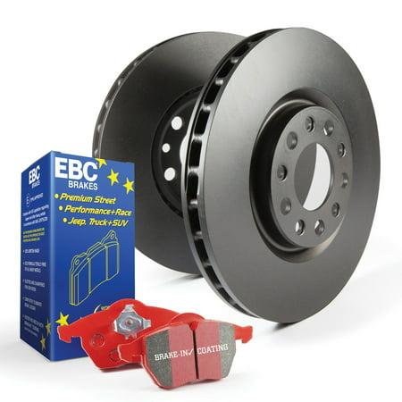 EBC Brakes S12KF1425 S12 Kits Redstuff and RK Rotors Fits 10-16 Genesis (90 Coupe Brake Rotors)