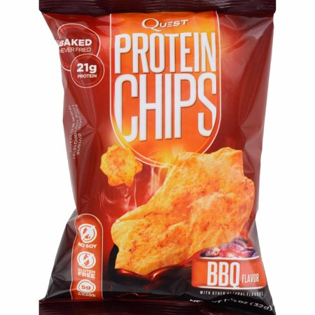 Quest Protein Chips   Barbecue   1 125 Oz   Case Of 8