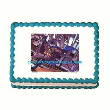 Batman Brave And Bold Edible Cake Image Walmart Com