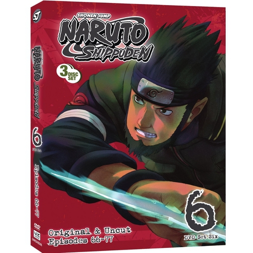 Naruto: Shippuden Uncut - Box Set 6 (Japanese) (Widescreen)