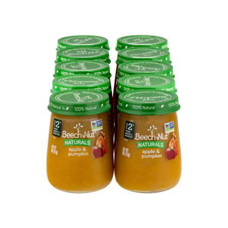 Beech-Nut Naturals Stage 2 Apple & Pumpkin (Pack of 16)