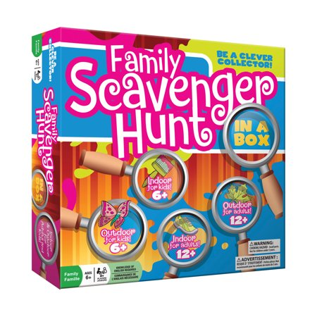 Family Scavenger Hunt in a Box (Halloween Scavenger Hunt Ideas Classroom)