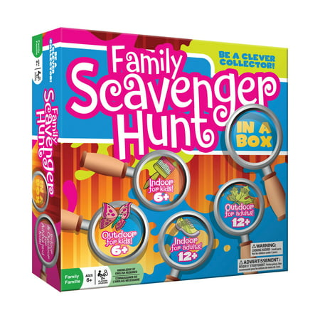Family Scavenger Hunt in a Box (Best Scavenger Hunt Items)