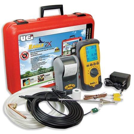 UEI TEST INSTRUMENTS C155KIT Portable Combustion Analyzer Kit ()