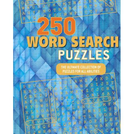 250 Word Search Puzzles : The Ultimate Collection of Puzzles for All Abilities](The Ultimate Halloween Word Search)