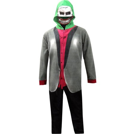 ba6bf1e72 The Joker Suicide Squad Onesie Pajama with Drop Seat